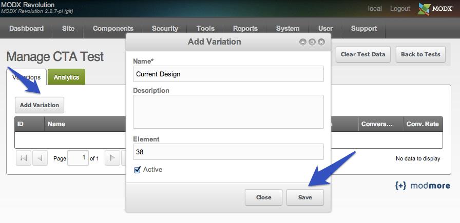 Screenshot for Step 5