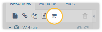 Create a new category via the Tree Toolbar