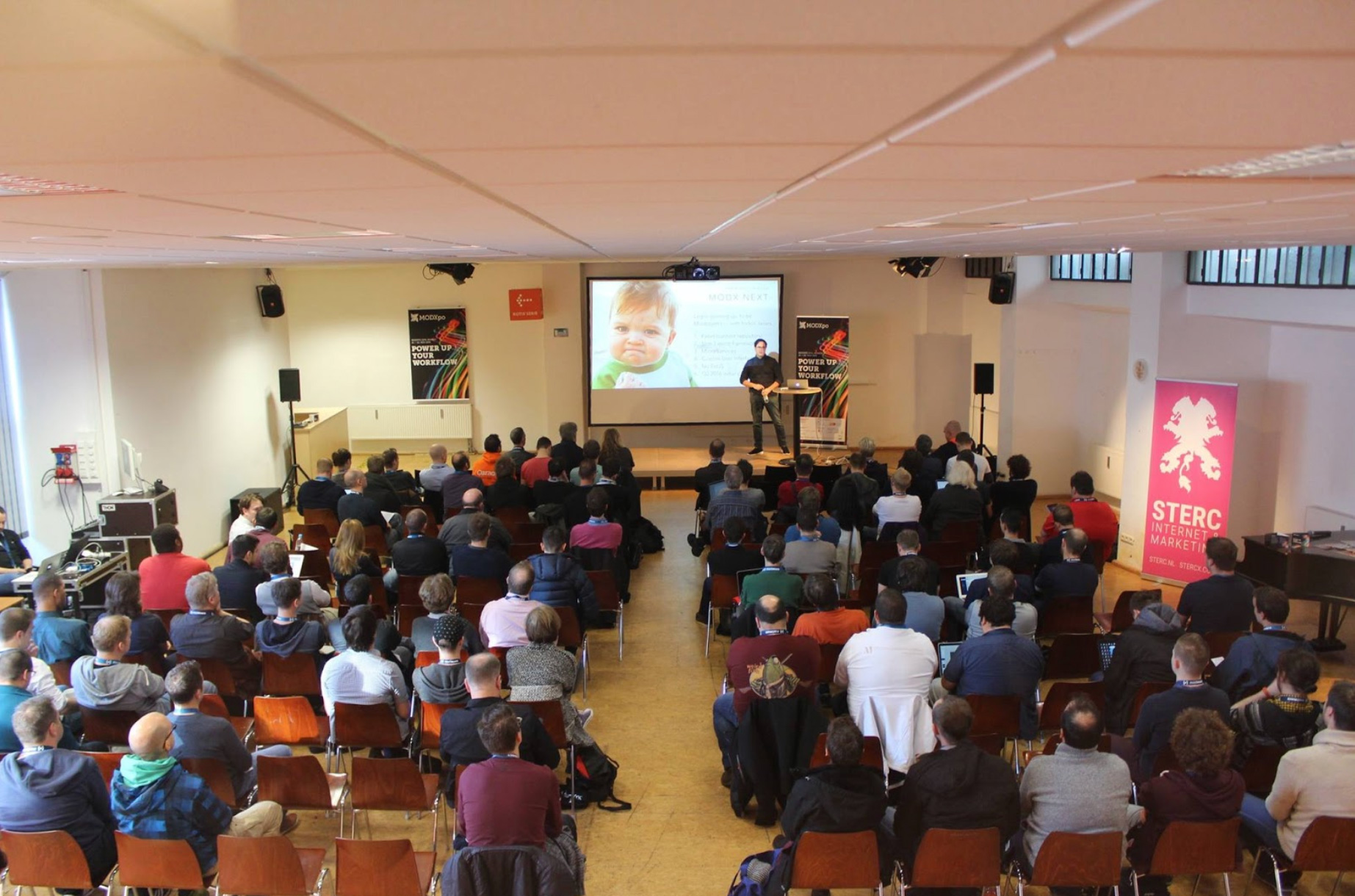 We announced Commerce at MODXpo in Munich